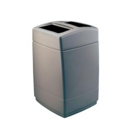 200 Litre 2 Compartment Square Container