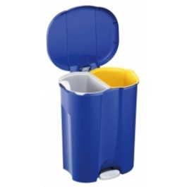 56 Litre 2 Compartment Pedal Bin