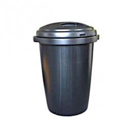 Black Dustbin (80 Ltr)