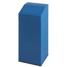 Metal Waste Bin with Push Lid 45 Litres