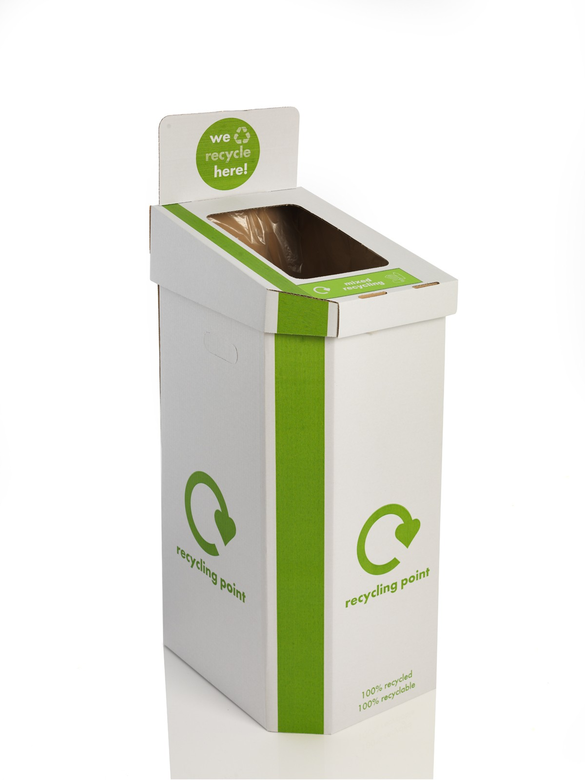 Special Offer Pack Of 5 Cardboard Recycling Bins