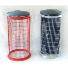 Wire Mesh Full Guard Sack Holder Bin