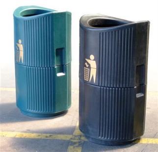 Outdoor litter bins schools