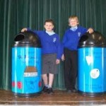 Personalised school bins