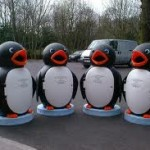 Standard penguin school bin