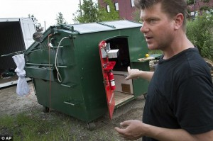Gregory Kloehn Dumpster Home