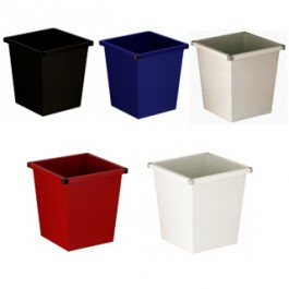 Square Waste Basket - Steel (27 ltr)