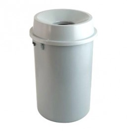 Open Top Plastic Waste Bins (60 Ltr)
