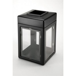 Clear Sided Waste Container 140 Litres