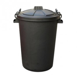 90 Litre Heavy Duty Dustbin With Clip on Lid