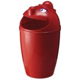 Funny Face School Litter Bin (75 Ltr)
