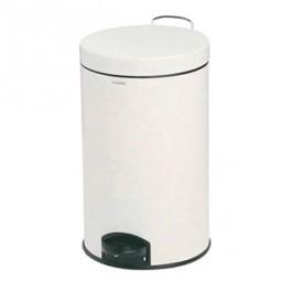 Pedal Bin - White (12 ltr)