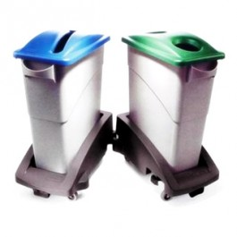 Slim Jim Waste Container (60.5 Ltr)