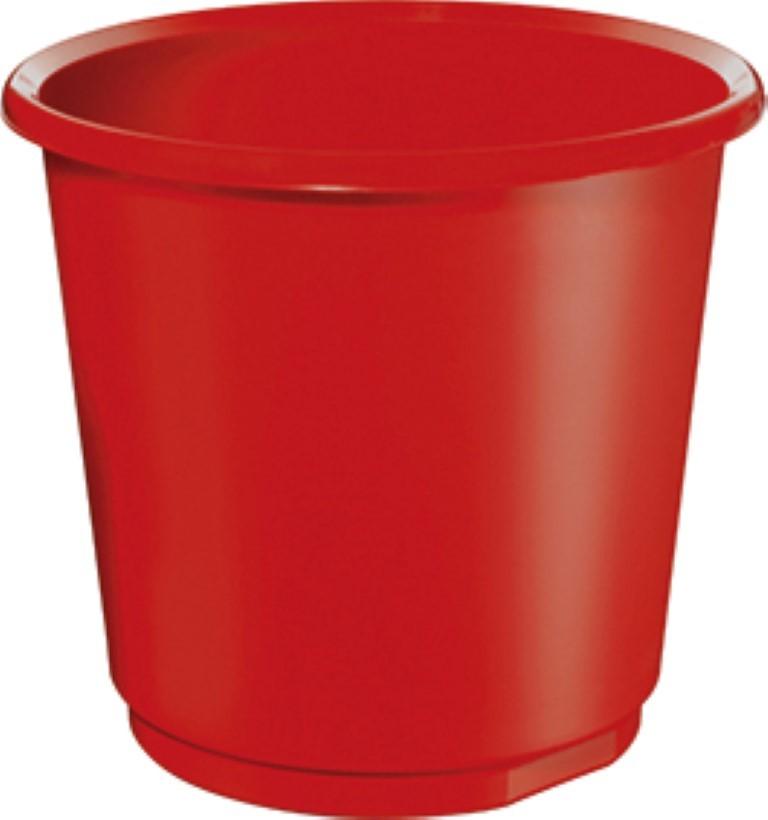 Coloured waste baskets 18 litres pack of 4 - Rd wastebasket ...