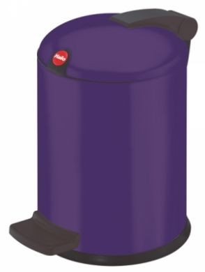 Trento design 4 litre bathroom bin available in 7 colour for Purple bathroom bin