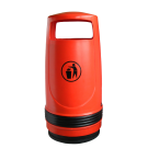 Merlin Outdoor Litter Bin