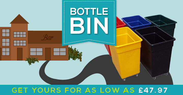 Bottle bins banner